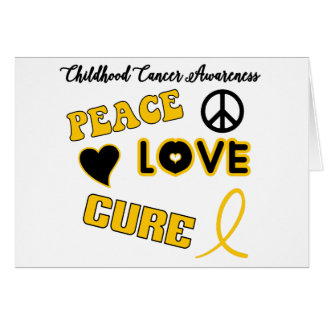 Childhood Cancer Awareness Greeting Card