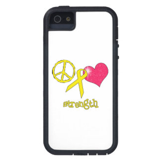 Childhood Cancer Awareness iPhone 5 Cases