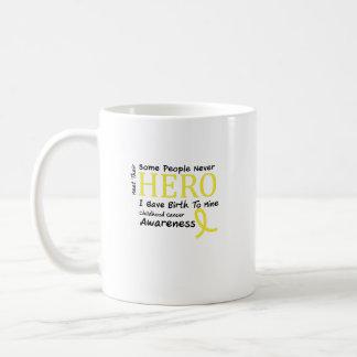 Childhood Cancer Awareness Meet My Hero Fightings Coffee Mug