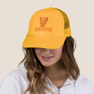 Childhood Cancer Awareness Ribbon Survivor Caps