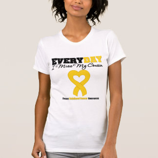 Childhood Cancer Every Day I Miss My Cousin Tee Shirts