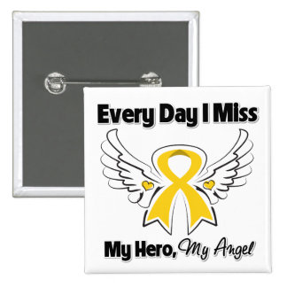 Childhood Cancer Every Day I Miss My Hero Buttons