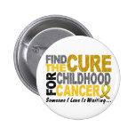 Childhood Cancer Find The Cure 1 6 Cm Round Badge