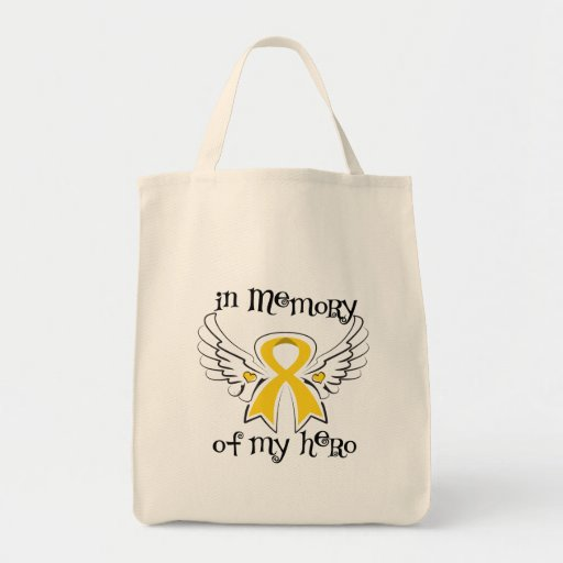 Childhood Cancer In Memory of My Hero Tote Bag