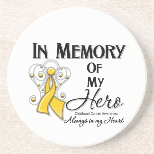Childhood Cancer In Memory of My Hero Coasters