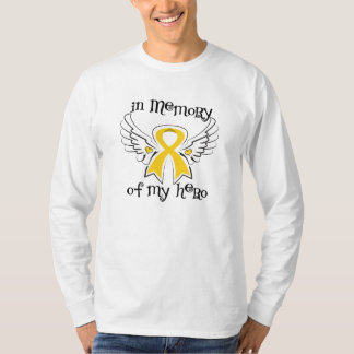Childhood Cancer In Memory of My Hero Tee Shirts