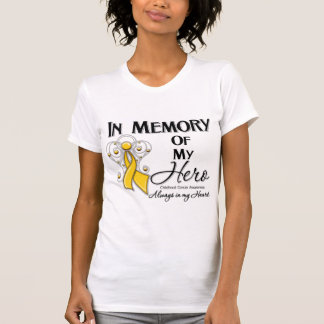 Childhood Cancer In Memory of My Hero T Shirts