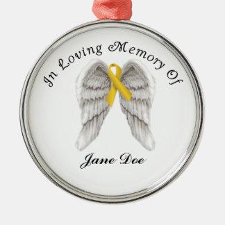 Childhood Cancer Memory Ornament