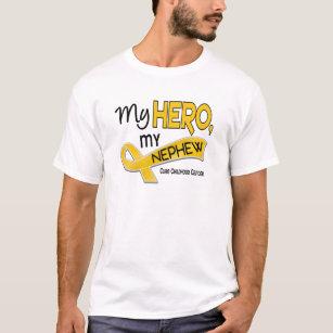 0b5d247ecd1 Childhood Cancer MY HERO MY NEPHEW 42 T-Shirt