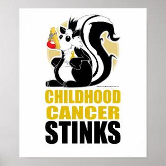 Childhood Cancer Stinks Poster