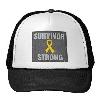 Childhood Cancer Survivor Strong Mesh Hat