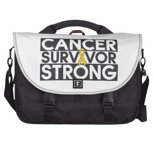 Childhood Cancer Survivor Strong Commuter Bag