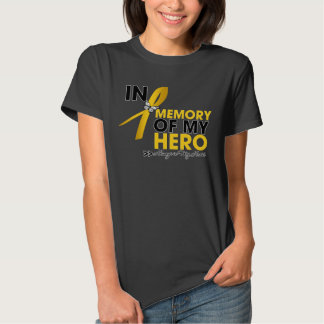 Childhood Cancer Tribute In Memory of My Hero Shirt