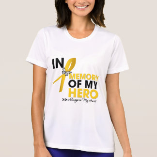 Childhood Cancer Tribute In Memory of My Hero Tee Shirt