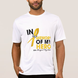 Childhood Cancer Tribute In Memory of My Hero Tshirts
