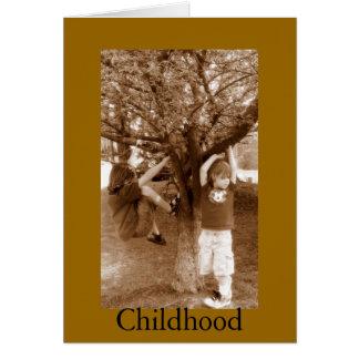 Childhood Card