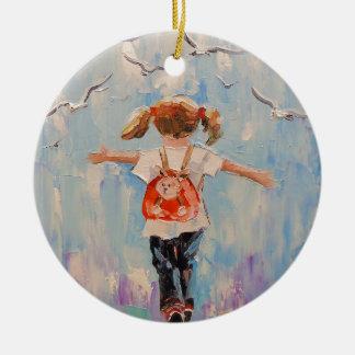 Childhood Ceramic Ornament