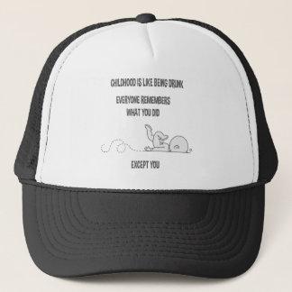 Childhood Drunk Trucker Hat