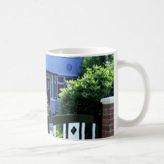 Childhood home of John Lennon Basic White Mug