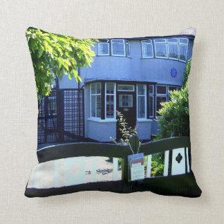 Childhood home of John Lennon Throw Cushions