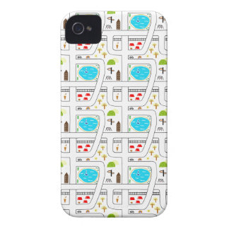 Childhood Map iPhone 4 Case