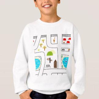Childhood Map Sweatshirt