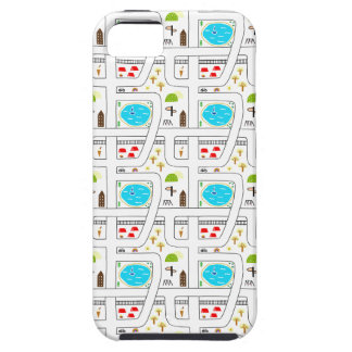 Childhood Map Tough iPhone 5 Case