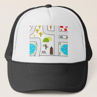 Childhood Map Trucker Hat