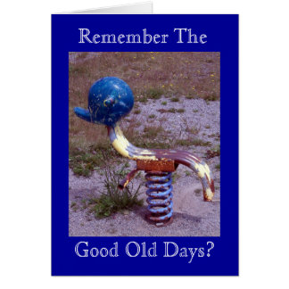 Childhood Memories Collection Greeting Card