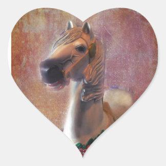 Childhood Memories Heart Sticker