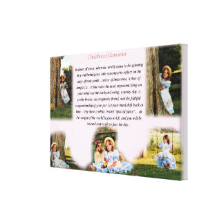 Childhood Memories Inspirational Canvas Prints