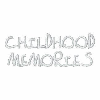Childhood Memories Men's Embroidered Hoodie