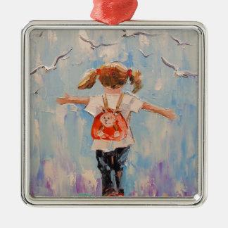 Childhood Metal Ornament