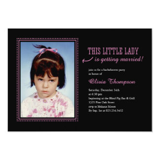 Childhood Photo Bachelorette Party Invitations