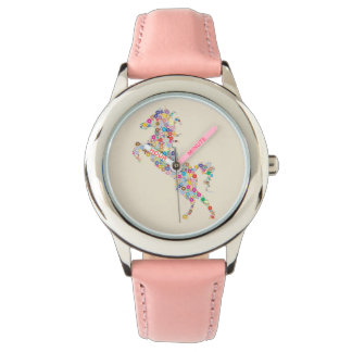 Childish clock Horse Wrist Watches