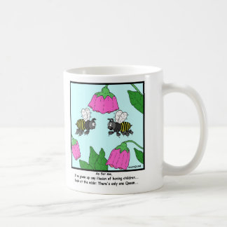 Childless: Bee cartoon Coffee Mug