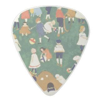Children, 1908 acetal guitar pick