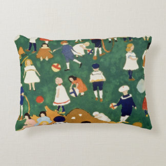 Children, 1908 accent pillow