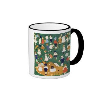 Children, 1908 ringer coffee mug