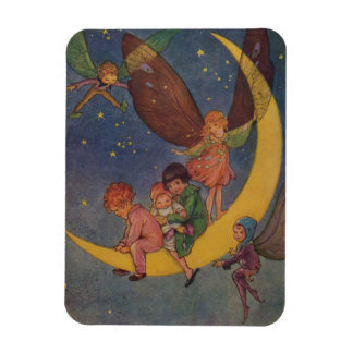Children and Fairies Ride the Moon, Magnet
