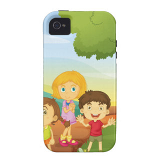 Children and sign Case-Mate iPhone 4 cases