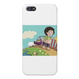 children and the sheep cases for iPhone 5