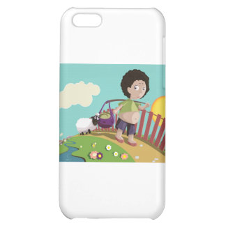 children and the sheep iPhone 5C cases