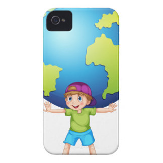 Children and the world iPhone 4 cases