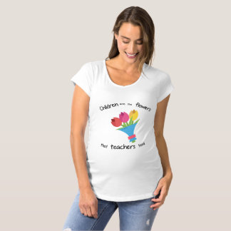 Children are the Flowers Maternity s/s T-Shirt