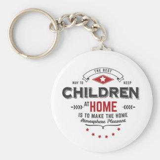 children at home key ring