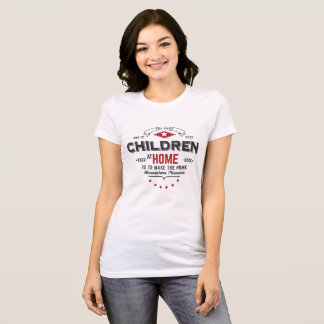 children at home tshirt