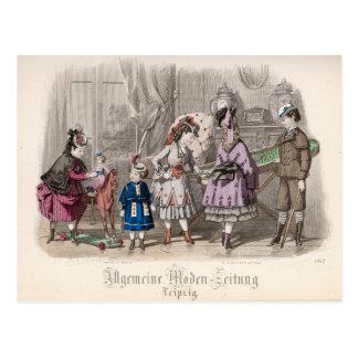 Children at Play Postcard