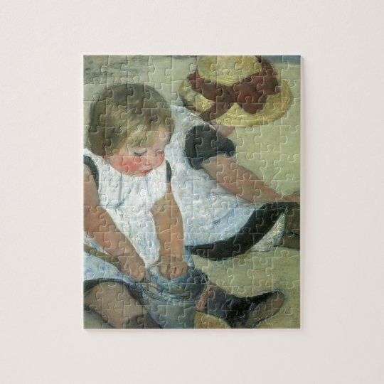 Children at the Seashore 1885 Jigsaw Puzzle