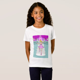 Children dancing ballet in the theater T-Shirt